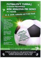 Futbal o pohár prezidenta MSK